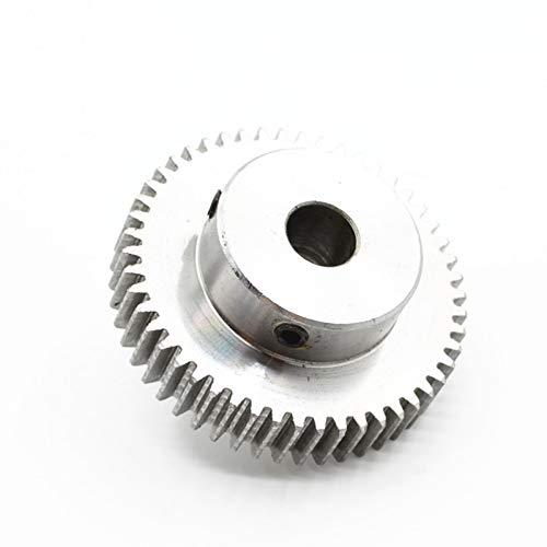 Stirnrad Ritzel 1M 35T 35Zähne Mod 1 Breite 10mm Bohrung 6mm 7mm 8mm Rechte Zähne 45# Stahl Hauptzahnrad CNC Zahnstange Getriebe RC (Number of Teeth : 40T Inner Hole 6mm)