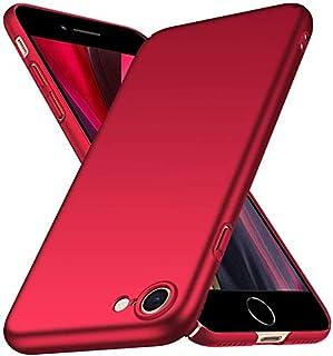 جراب FanTing لهاتف Apple iPhone SE2، [رفيع للغاية] [مضاد للسقطة] [ملمس حرير] جراب صلب واقي من البولي كربونات لهاتف Apple i...