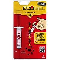 Ecogel 4021 - Gel en jeringuilla contra cucarachas 10 gr