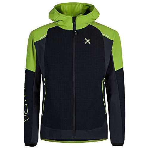 MONTURA Giacca Uomo Antivento Wind Revolution Hoody Jacket (L)