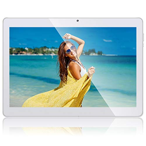 """10.1"""" Inch Android 8.1 Tablet, 3G Phone Call Phablet PC with Google Play, 16GB ROM 1GB RAM, Dual Sim Card Slots, Cameras, GPS, WIFI, 1280 * 800 HD IPS Screen - QIMAOO Q10 Tablet Pad"""