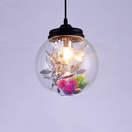 LED Luz de techo / Araña de luces Nordic Modern Flower-grass Araña de Cristal Personalidad Creativa Sala de estar Comedor Dormitorio Cafetería Tienda Flor Habitación Araña Nivel de energía 【A ++】