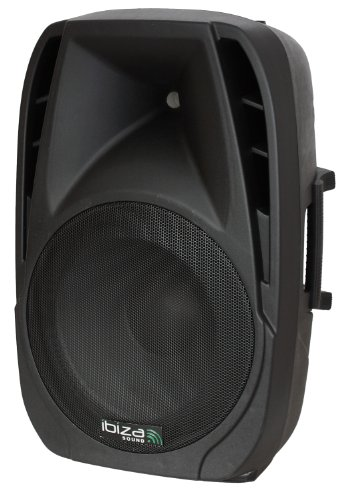 Ibiza BT12A - Bafle activo portátil, 12
