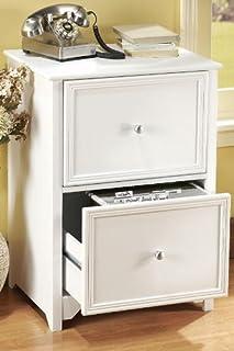 Home Decorators Collection Oxford File Cabinet, 2-Drawer, White
