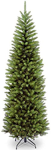 National Tree Company Artificial Christmas Tree Includes Stand, Kingswood Fir Slim - 6.5 ft, GREEN