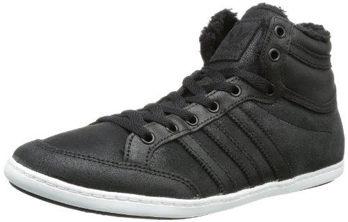 adidas Plimcana Mid Fur Q34159, Herren Sneaker, Schwarz (Black 1 / Black 1 / Running White Ftw), EU 40 2/3 (UK 7)