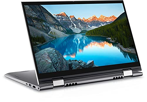 """Dell 14 (2021) i3-1125G4 2in1 Touch Screen Laptop, 8Gb RAM, 256Gb SSD, 14"""" (35.56 cms) FHD Display, Win 10 + MSO, Backlit KB + FPR, Silver Color (Inspiron 5410, D560563WIN9S)"""