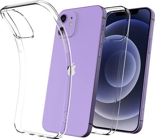 Cover Iphone 12, Cover Iphone 12 Pro 6.1 Pollici, In Silicone Gel Tpu Morbido Con Assorbimento Degli...