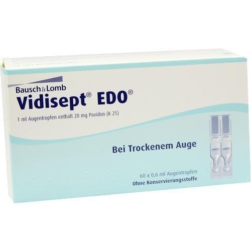 Vidisept EDO Augentropfen Pipetten, 60 x 0.6 ml