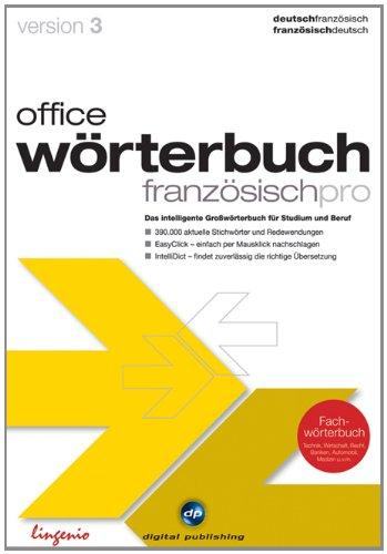 office wörterbuch 3.0 pro Deutsch/Französisch [import allemand]
