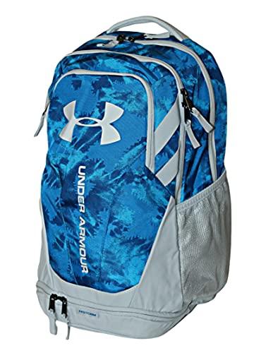 Under Armour UA Storm Hustle 3.0 Backpack Laptop Book Bag 15' (Blue/Light Grey 014)