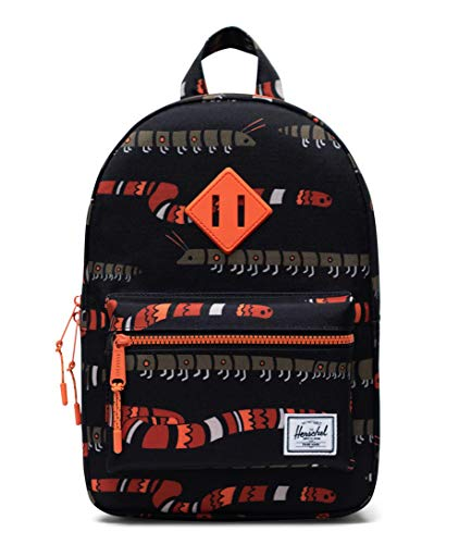 Herschel Unisex-Kinder Heritage Kids Children's Backpack, Creepers Black, 9L