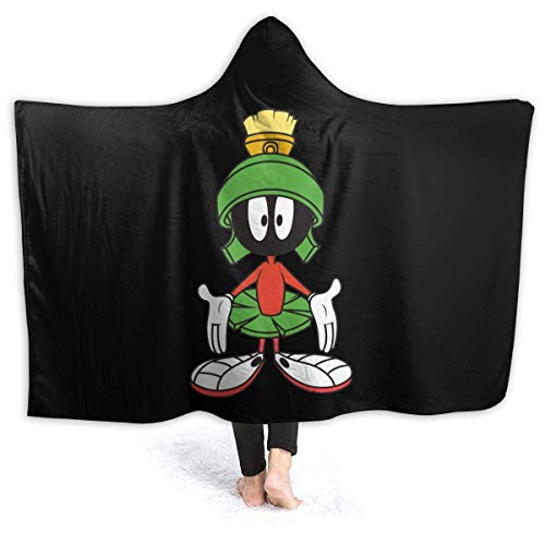 Jupsero Marvin Martian Soft and Warm Blanket Digitally Printed with Hat