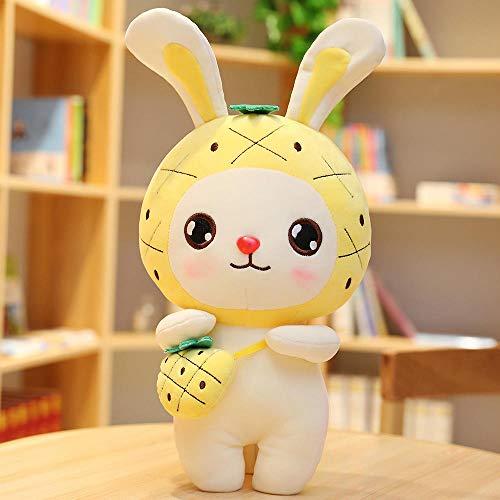 Bedom wallpaper Lindo conejo de peluche muñeca conejito muñeca princesa conejo muñeca regalo de cumpleaños-Piña_30 cm