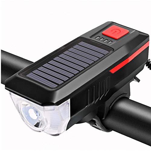 Lampe Solaire De Vélo Bicycle Phare USB...