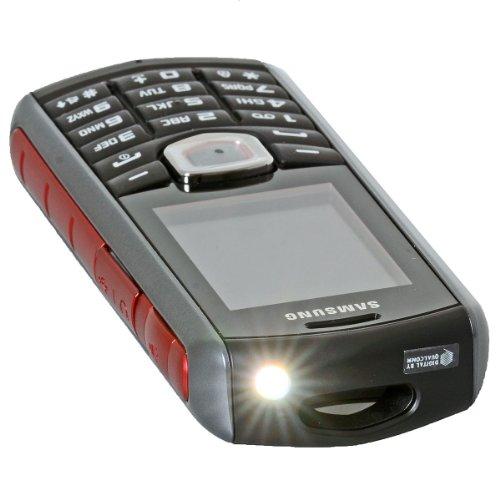 Samsung GT-B2710KRADBT B2710 Smartphone (5,1 cm (2 Zoll) TFT-Farbdisplay, V2.1 Bluetooth, 36MB interne Speicher) schwarz/rot