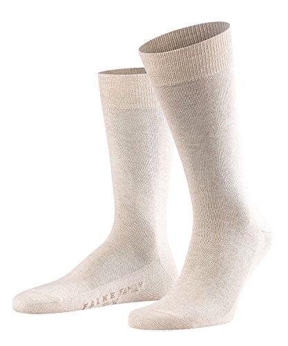 FALKE Family Herren Socken sand mel. (4650) 43-46 mit Baumwolle