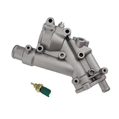 Sistema De Enfriamiento del Motor De Aluminio Sistema De Refrigeración Termostato Brida/Ajuste para - Peugeot / 307 407 / Fit For - Citroen / C4 C5 9687927980 1338.AV 1338AV 1336.x9