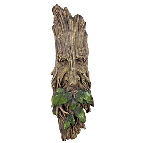 Photo of Design Toscano CL6218 Whispering Wilhelm Tree Ent Wall Sculpture, 38 cm, Polyresin, Full Color