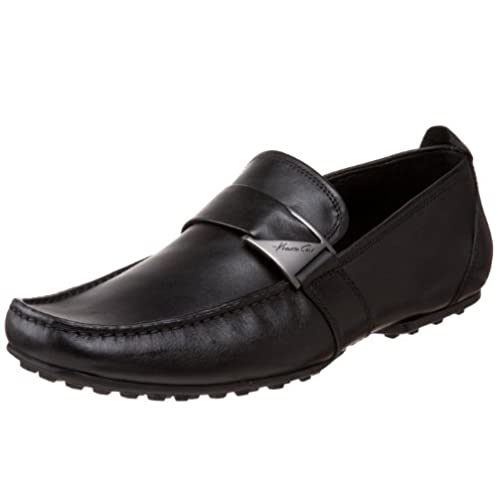 SWIMS Men/'s Penny Loafers Driving Moccasin Shoes Black//Anthracite//Red 12 US
