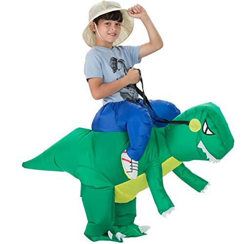 JiuRong Disfraz Inflable de Dinosaurio Disfraces Disfraces inflables de Halloween para Adultos...