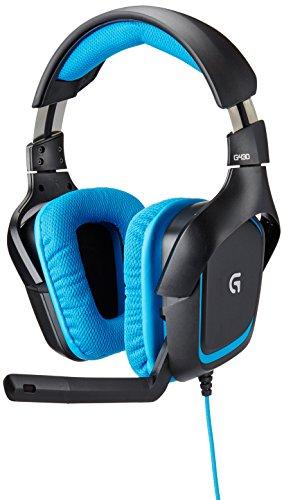 Fone de Ouvido para Jogos com Som Surround 7.1 Logitech G430
