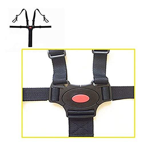 Faith Wings Bambini 5 Punti Cintura Sicurezza con Imbottitura Delle Spalle Bambino Sicuro Cintura Regolabile per Carrozzina Passeggino
