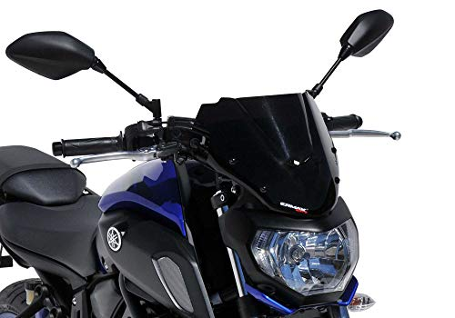 ERMAX Naked-Bike-Scheibe kompatibel mit YAMAHA MT-07 2018-2019 RM17/RM18