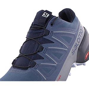 Salomon Women's Speedcross 5 W Trail Running Shoe, Sargasso Sea/Navy Blazer/Heather, 9