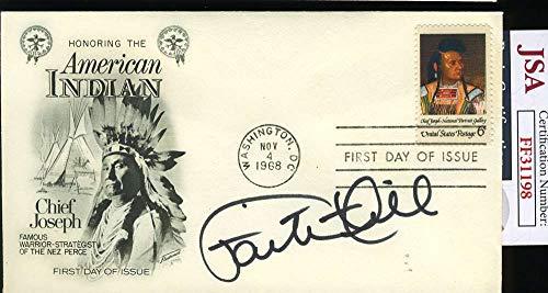FAITH HILL JSA Cert Signed FDC Cache Autograph