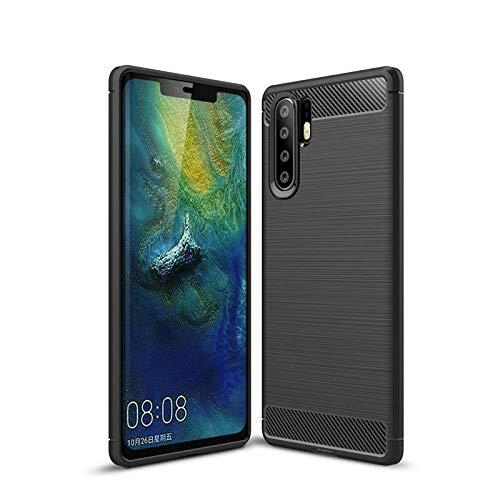 CoverKingz Handyhulle fur Huawei P30 Pro Silikon Handy Hulle P30 Pro Soft Case Carbon Farben schwarz
