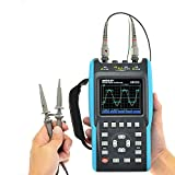 all-sun 2 in 1 Handheld Oscilloscope with Color Screen Dual Channel Scope Muti Meter 25MHz...