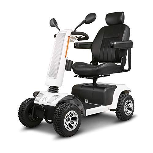 QZPM High-End-Alten Roller Solar Smart Allrad-Elektroauto faltbar, dick und bequemer Sitz, geeignet for die Reise und einfach (Color : White, Size : 130X121CM)