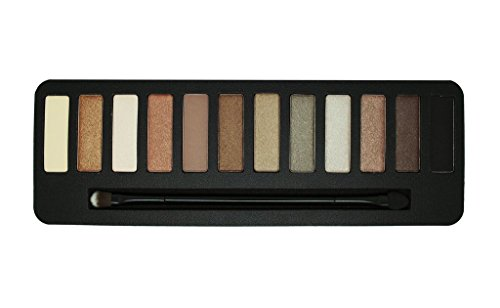 W7 Colour me Buff Palette di 12 Ombretti,  Natural Nudes