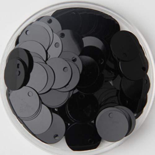 PVC Plano Redondo Lentejuelas Sueltas Paillettes Coser artesanía Bricolaje Accesorios para Prendas