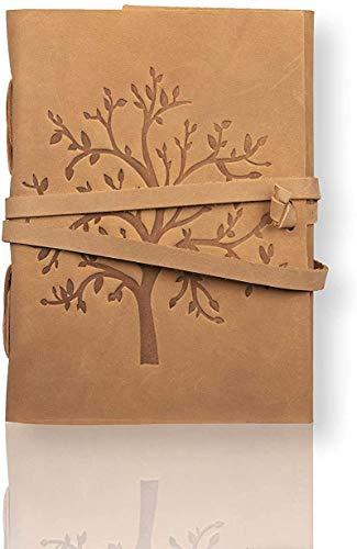 Overdose - Diario in pelle Om Diary scrittura Notebook Notepad college poesia libro di schizzo :: Fatto a mano :: 5x7