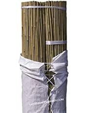 Suinga. 500 x TUTOR DE BAMBU 105 cm, diámetro 8-10 mm. Uso agrícola para sujetar árboles, plantas y hortalizas.