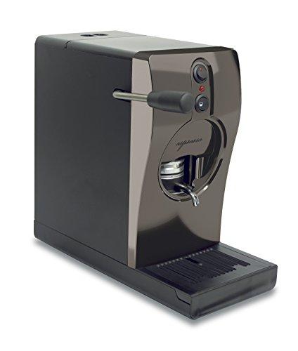 Kaffeemaschine mit Pads, Modell Tube 220 V, Nickel + 18 Kaffeepads Musetti