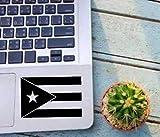 DONL9BAUER Bandera de Puerto Rico, país, Estado, Ventana, Vidrio, calcomanía de Vinilo para Coches, Paredes, Vasos, Tazas, Ordenadores portátiles Yeti