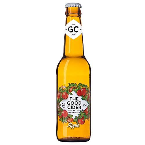 The Good Cider of San Sebastian Apple - Caja de 12 x 33 cl