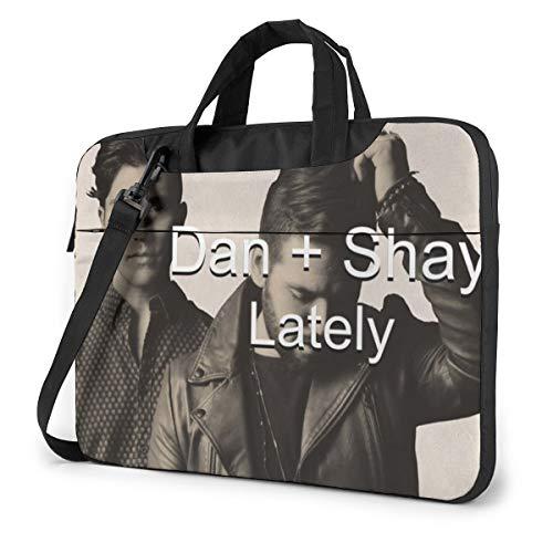 Dfmdfng Dan+Shay 13'- 14-15.6' inch Notebook Laptop Shoulder Messenger Briefcase Case 14 inch