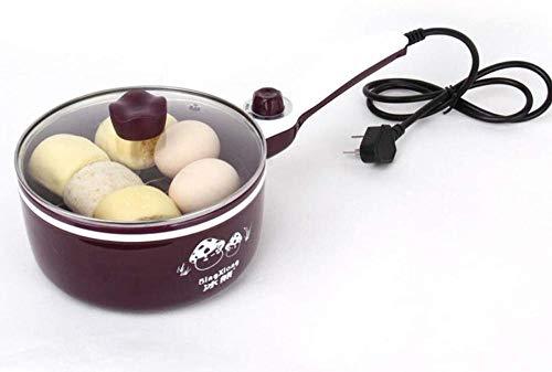 Mini Noodle Pot Elektrische Fornuis Slaapzaal Koekepan Wok Noodle Pot Student Multifunctioneel Laag Vermogen voor 1-2 Personen (Upgrade)