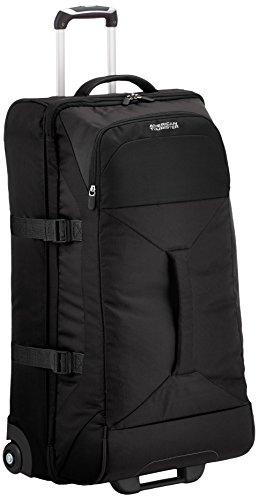 American Tourister - Road Quest Bolsa de Viaje con Ruedas, 40 litros, Negro sólido (Black), L (80cm-88L)
