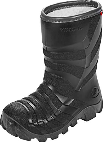 Viking ULTRA 2.0 Gummistiefel 2.0, Schwarz (Black/Grey), 30 EU (11.5 UK)