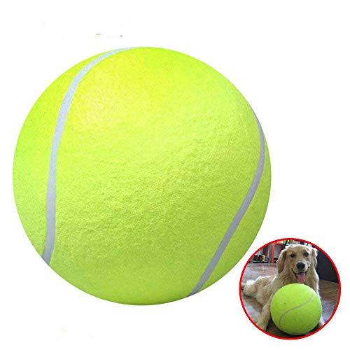 Rishx Bola de Tenis Gigante de los 24CM, Juguetes inflables del Ejercicio...