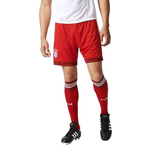 adidas Herren Torwartshorts FC Bayern Goalkeeper Ausweich Shorts Torwart, FCB True Red/White, S