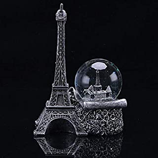 Eiffel Tower with a luminous crystal