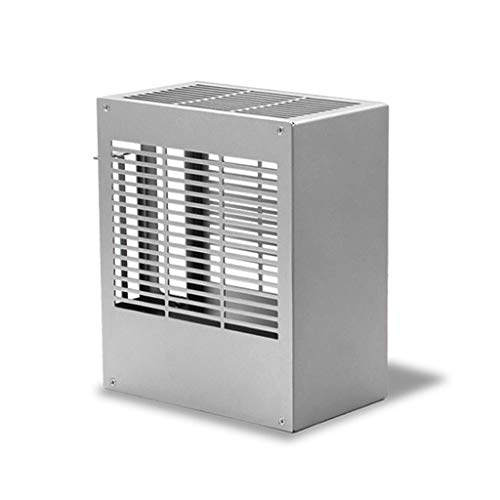 Obokidly SGPC K39V2 Mini ITX A4 PC Case All Full Aluminum Mini Tower HTPC Small Chassis Gaming Computer Case (K39v2, Silver)