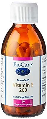 Biocare 200iu Vitamin E Vegetable - Pack of 60 Capsules from Biocare