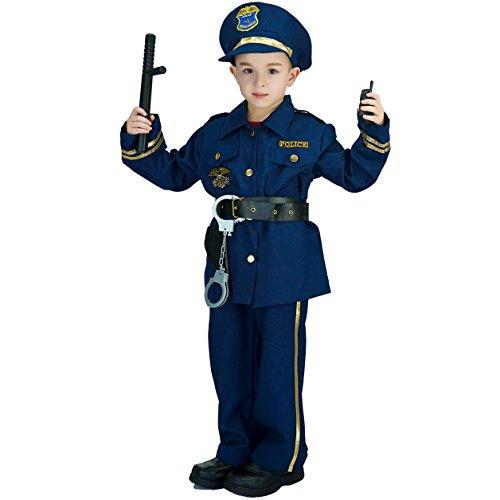 SEA HARE Disfraz de policía Infantil (4-6 años)